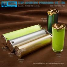 Atraente devenda clássica e popular do atarraxamento redondo sem ar loção bomba alta garrafa garrafa de embalagens de cosméticos de qualidade