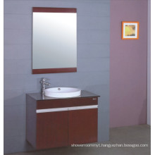 Modern Wooden Bathroom Vanity (B-191)