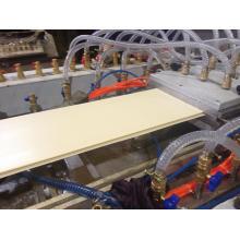 Linha composta da extrusão do perfil da placa de assoalho do Plast da madeira de WPC (SJSZ65 / 132)