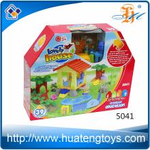 New Product Children 39pcs Mega House Building Block Toys