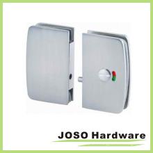 Round Edge Glass Sliding Door Lock Door Hardware (GDL002B)