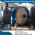 Usine de pyrolyse d'usine de combustible de recyclage de pneu