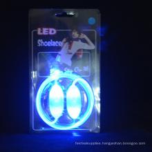 optical fiber Feature led flashing shoelaces
