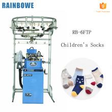 """3.75 """"tricot automatique de chaussette d'orteil d'enfants de laine plate d'ordinateur faisant le prix de machine pour éponge et plaine"""