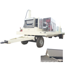 SX-KR 24 standing seam roof tile galvanized iron workroom roof roll building machine