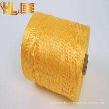 hilo de coser / hilo de pp fibrilado / fabricante de cuerda trenzada agrícola