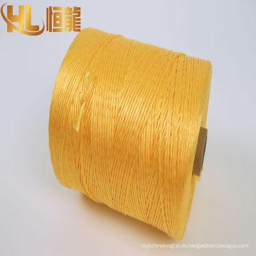 Nähgarn / fibrilliertes PP-Garn / landwirtschaftliche geflochtene Seil Hersteller