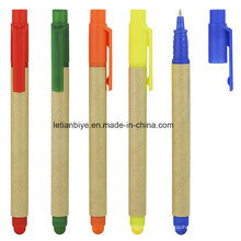Bolígrafo de papel ecológico multifuncional con lápiz (LT-C815)