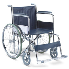 Chaise à roulettes à roulettes en acier