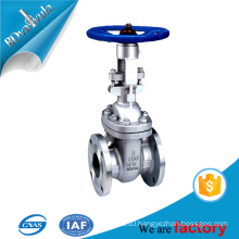 ANSI b16.5 casted steel gate valve for water oil industry with hand wheel