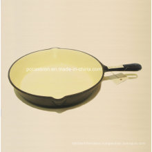 Ce Approved Cast Iron Frypan Dia 26cm Factory Price