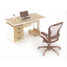 Mesa de escritório de escritório de desconto 2014 nova moda simples moderna em placa de melamina da China foshan