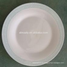 оптом тарелка,китайская фарфоровая тарелка,изготовленная на заказ тарелку