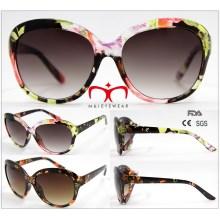 2016 Gafas de sol de moda de las señoras con la transferencia de papel (WSP601547)