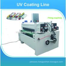 Wood panels UV high glossy painting machine/line