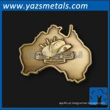 logotipo do cartão de metal personalizado 1 rótulo