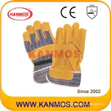 """11"""" Pig Split Leather Work Safety Industrial Gloves (21005)"""