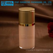 ZB-BM Serie 30ml 50ml 80ml spezielle Spiegel Kappe Kunststoff Acryl airless-Pumpe Flasche