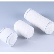 Bandas de crepé de algodón con paquete PE