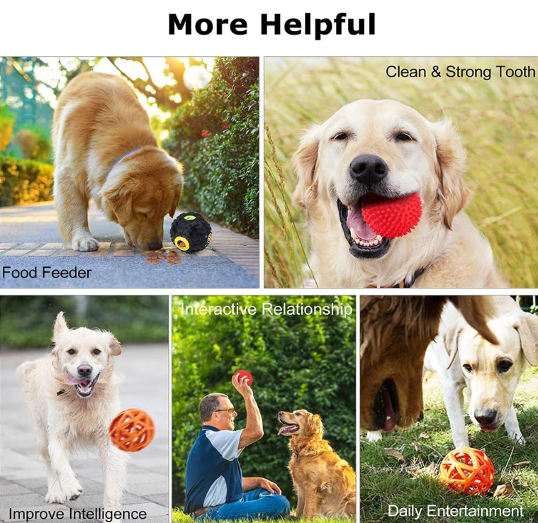Dog Food Puzzle Ball