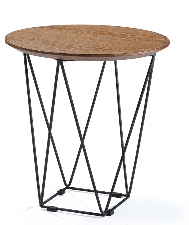 Modern Metal Unique Round Restaurant Coffee Wood Tables