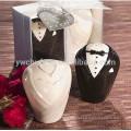 Ceramic Bride and groom Salt and pepper Shaker Wedding Gifts