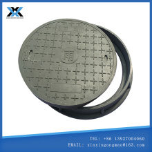 Composite round manhole cover