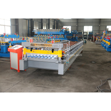 Color Steel Corrugated Roof Roll Forming Machine