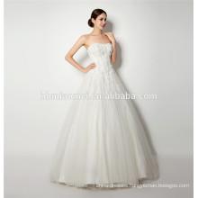Wholesale tp quality new fashion China custom made cap sleeve lace wedding dress sex