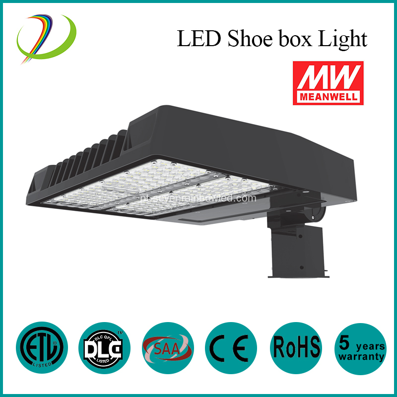 125lm / W LED Shoebox Light