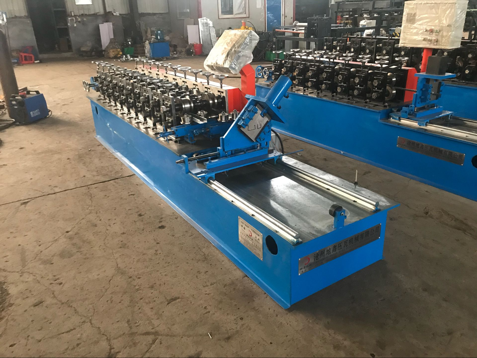 light Keel molding roll forming machine