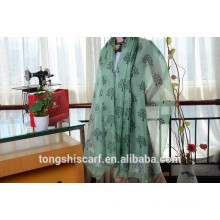 Latest fashionable trees printed oblo