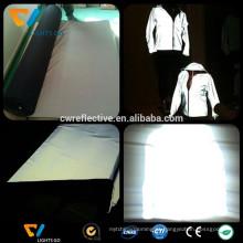 Brilho luminoso EN471 no tecido escuro jaqueta reflexiva