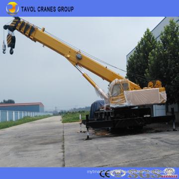 Camión grúa para grúa de construcción