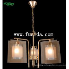 Luz cristalina de la lámpara moderna del techo del nuevo diseño, luz pendiente