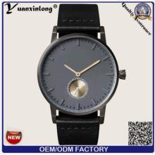Damen-Uhr-Frauen-Mann-Handuhr-Luxuxgeschäft-Quarz-Uhr-echtes Leder-Edelstahl-rückseitige Uhren