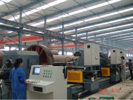 CNC Boiler Barrel Drilling Machine