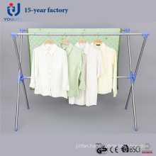 Stainless Steel Extendable X-Type Clothes Hanger