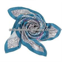 Custom made silk scarf wholesale china