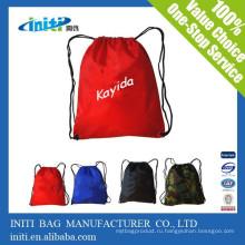 Экологичная рекламная сумка для путешествий Drawstring с заводской ценой