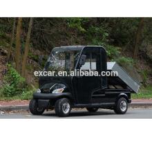 veículo utilitário, 2016 novo carrinho elétrico com cabine, carrinho de golfe elétrico com carga funcional