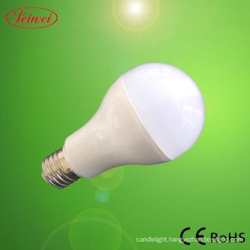 Plastic and Aluminum 3W E27 LED Bulb