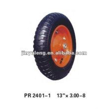 rubber wheel 3.00-8