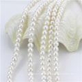 7-8mm White Wholesale Natural Freshwater Pearl Bead Strands