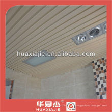 WPC ceiling panel in living room