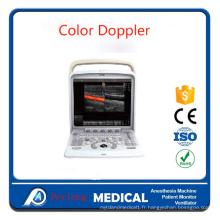 4D Doppler couleur Portable échographe Scanner