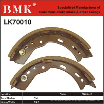 Umweltfreundliche Gabelstapler-Bremsschuhe (LK70010)