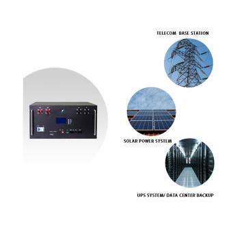 Niedrige Selbstentladung 48V 100Ah Solarbatterie