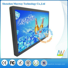 21.5 inch LCD digital signage bus support WiFi or 3G network