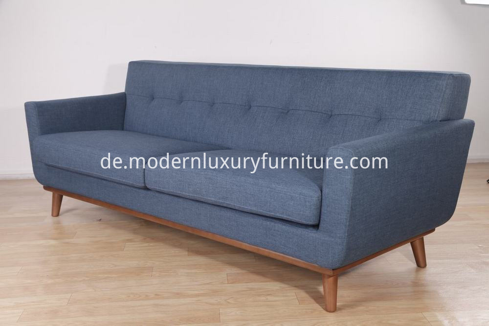 Wooden Base Sofa